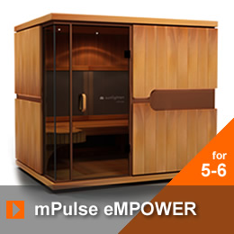 infrared sauna mpulse empower