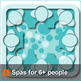 Algarve Hot Tub Spas for 6+ people