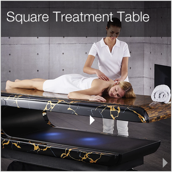 fabio square treatment table