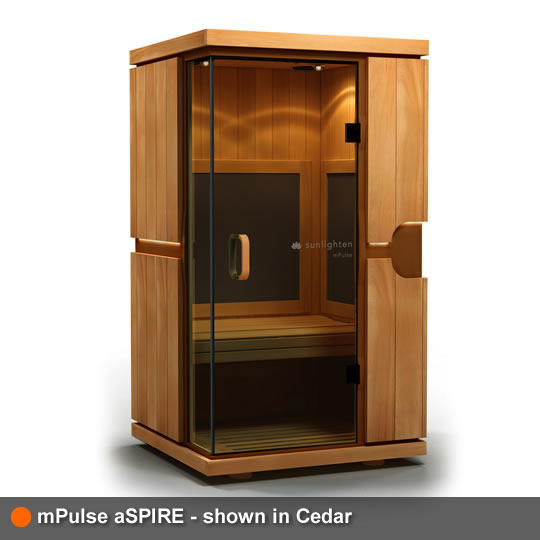 mPulse Sauna aSPIRE Cedar