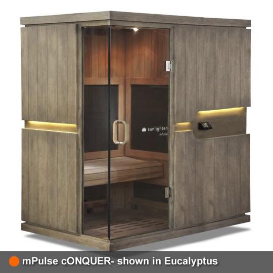 mPulse Sauna cONQUER Eucalyptus