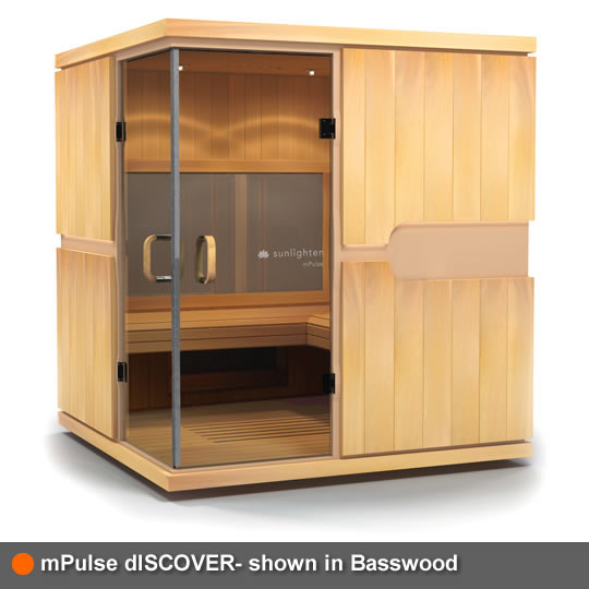 mPulse Sauna dISCOVER Basswood